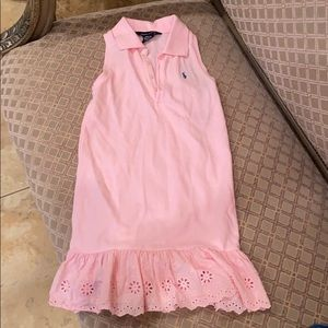Ralph Lauren Cotton Polo Dress, Big Girls